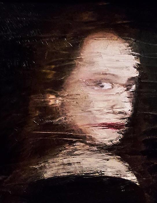 Geisler Gemälde Bianca-2017---50x40--Oel-auf-Leinwand