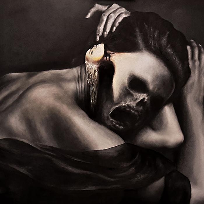 Geisler Gemälde Dementor-2017---100x70--Oel-auf-MDF