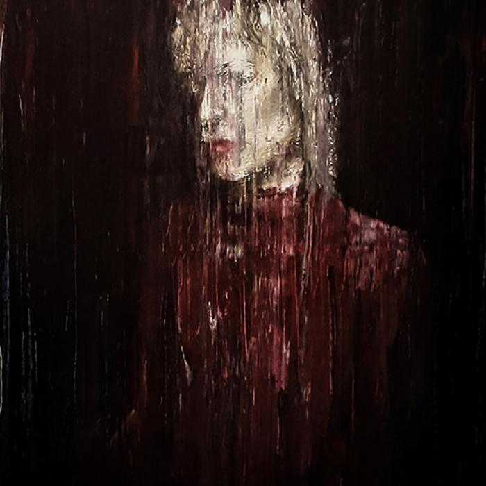 Geisler Gemälde Janice-2017---80x60-Oel-auf-Leinwand